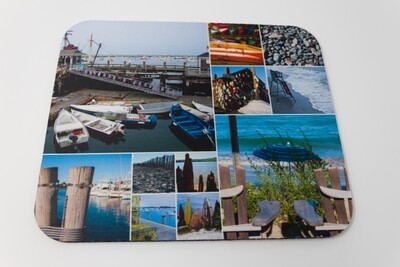 ​Special Christmas Sale-Photo Collage Mousepad-Nautical Scenes Around New England