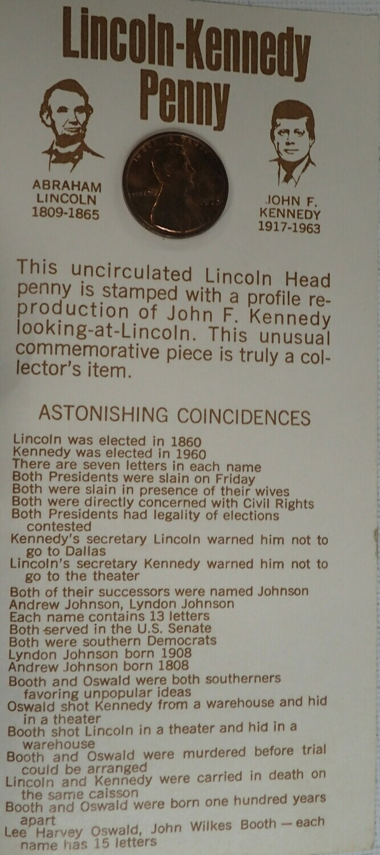1973 LINCOLN*KENNEDY