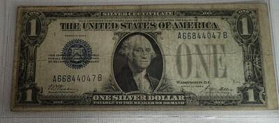 1928 A $1 SILVER CERTIFICATE