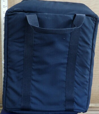 CARRYING CASE  DARK BLACK CANVAS
