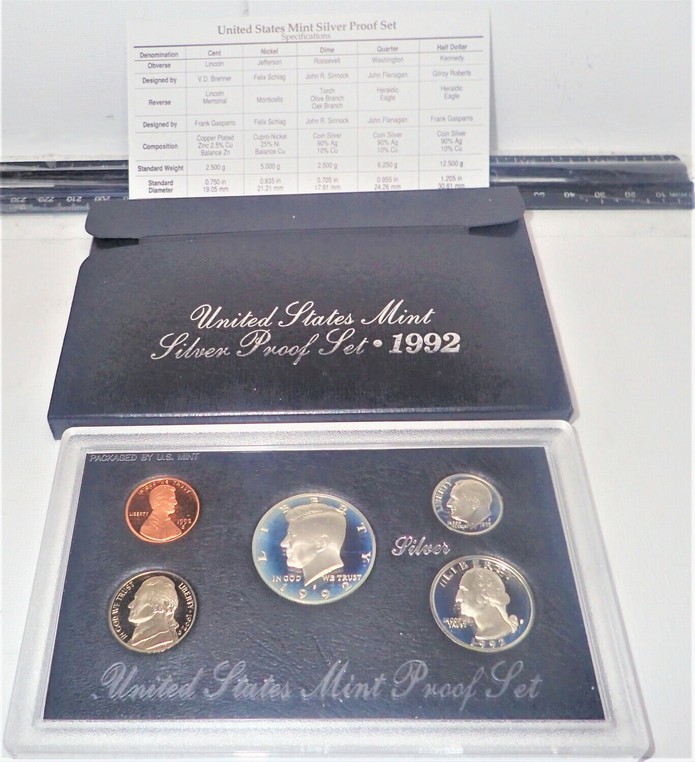 1992 SILVER PROOF SET