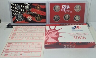 2006 SILVER PROOF SET