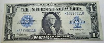 1923 $1 SILVER CERTIFICATE  K63779911B