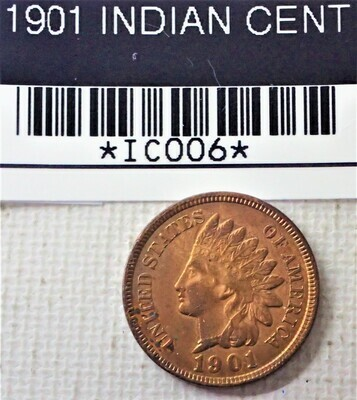 1901 INDIAN CENT IC006