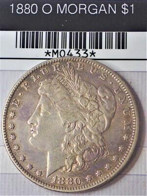1880 O MORGAN S$1 MO433