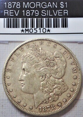 1878 MORGAN $1 REV OF 79 MO510
