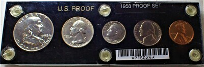 1958 PROOF SET PFS024