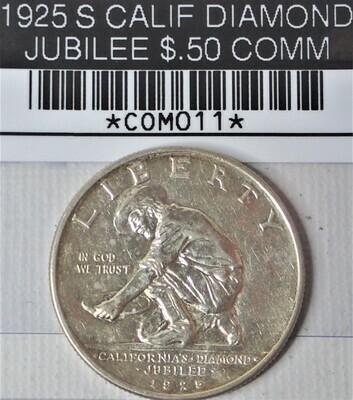 1925 S CALIF DIAMOND JUBILEE $.50 COMM COM011