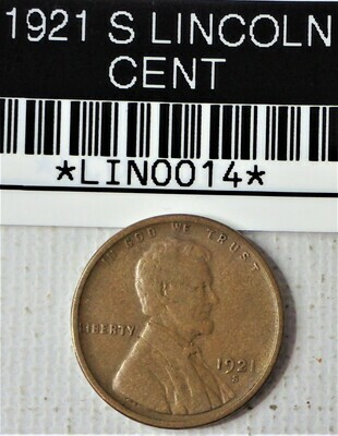 1921 S LINCOLN CENT LIN0014