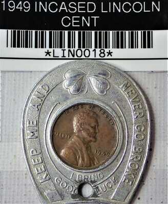 1949 ENCASED LINCOLN CENT LIN0018