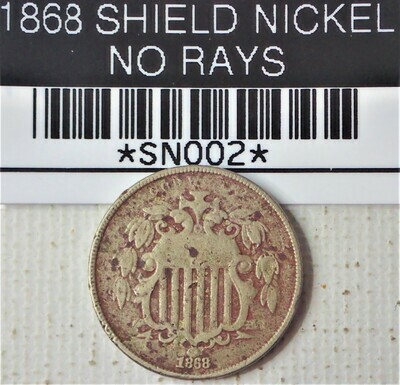 CAPS Album Shield /& Liberty Nickel Page 1 1866-1912 for Air-Tite Capsules 2043-1