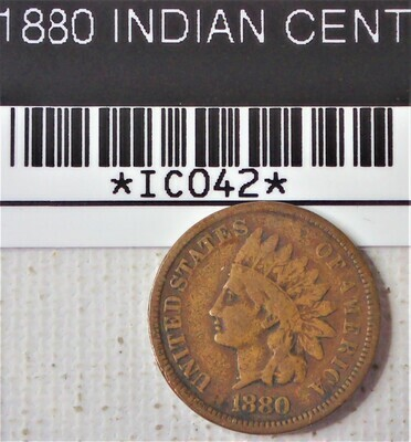 1880 INDIAN CENT IC042