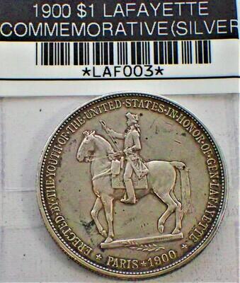 1900 $1 LAFAYETTE COMMEMORATIVE (SILVER) LAF003