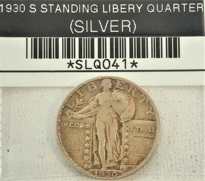 1930 S STANDING LIBERTY QUARTER (SILVER) SLQ041