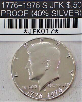 1976 S JFK $.50 (40% SILVER) JFK017