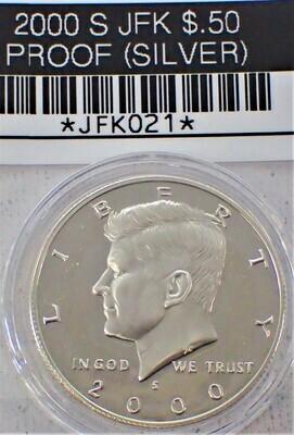 2000 S JFK $.50 PROOF (90% SILVER) JFK021