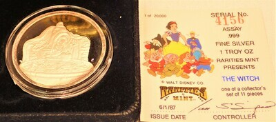 SNOW WHITE & THE SEVEN DWARFS 50TH ANNIVERSARY (THE WITCH) 4156