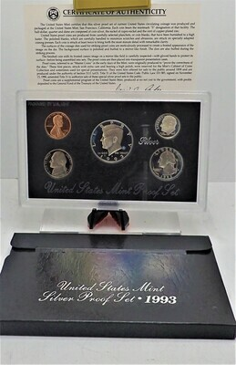 1993 PROOF SET (SILVER) PPS1025