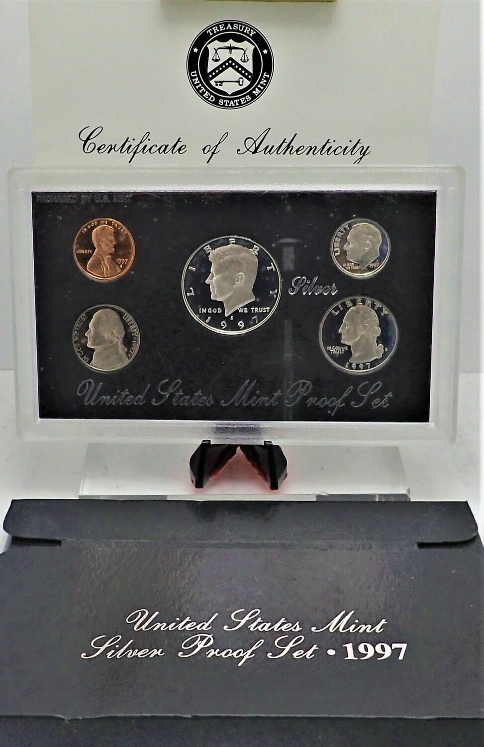 1997 PROOF SET (SILVER) PPS1028