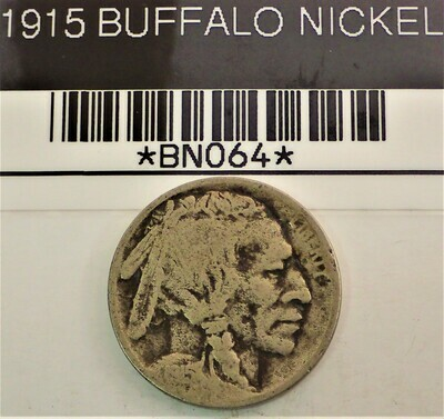 1915 BUFFALO NICKEL BN064