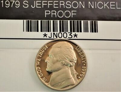 1979 S JEFFERSON NICKEL (PROOF) JN003