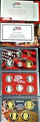 2007 SILVER  PROOF SET BOX & PAPERS PSS1038