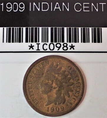 1909 INDIAN CENT IC098