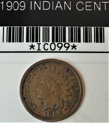 1909 INDIAN CENT IC099