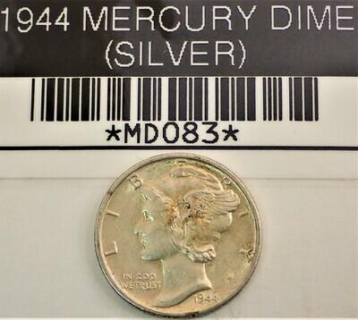 1944 MERCURY DIME (SILVER) MD083