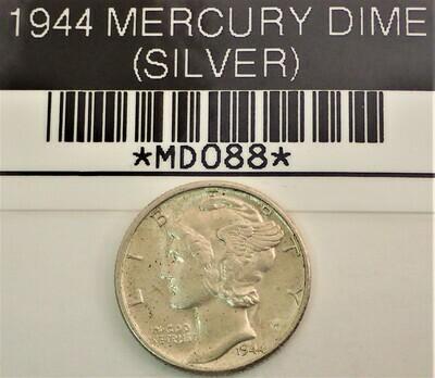 1944 MERCURY DIME (SILVER) MD088