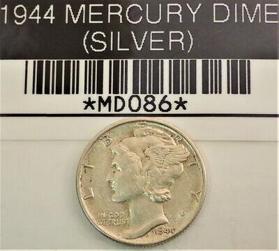 1944 MERCURY DIME (SILVER) MD086