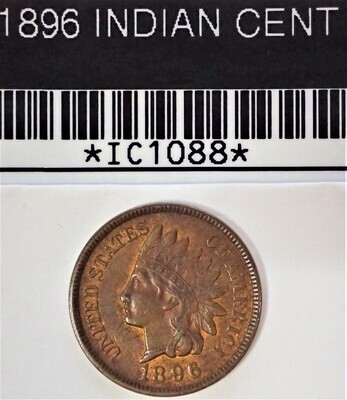 1896 INDIAN CENT  IC1088