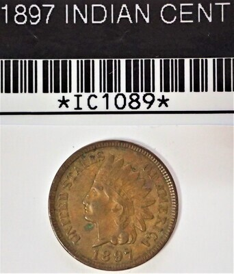 1897 INDIAN CENT  IC1089