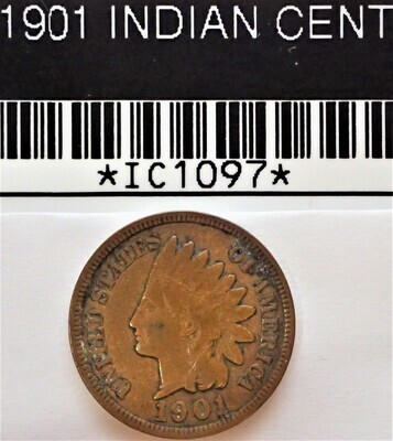 1901 INDIAN CENT  IC1097