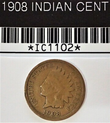 1908 INDIAN CENT  IC1102