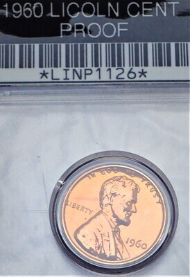 1960 LINCOLN CENT (PROOF) LINP1126