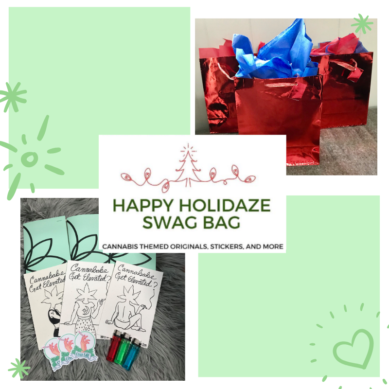 Happy HoliDAZE Swag Gift Bag