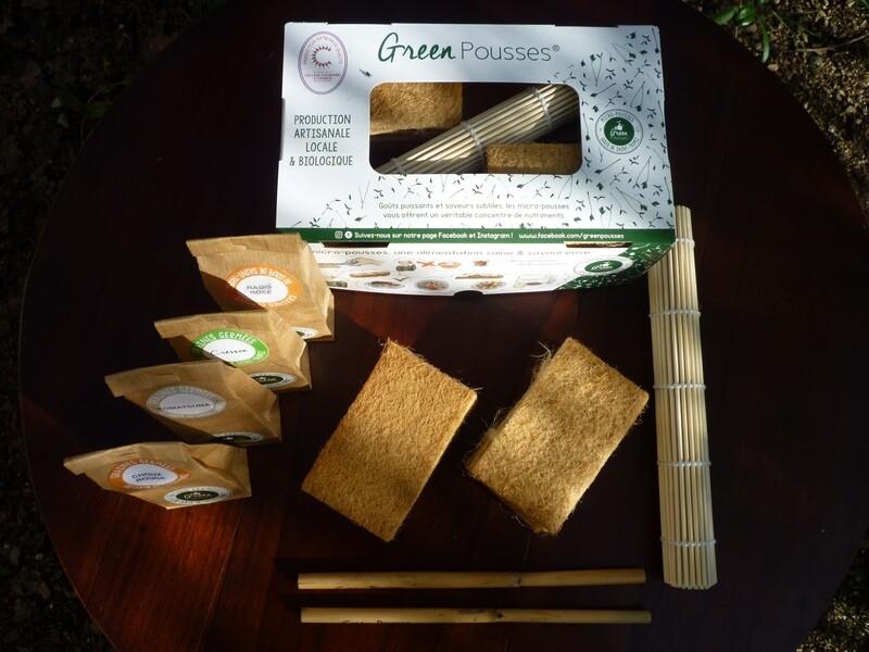 - Kit Green Box Confirmé -  Aneth, Basilic, Endive, Radis Noir