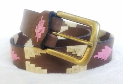 "Polo Belt Pampa Rosa 90CM (32-34"")"