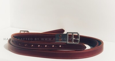 Covered stirrup leathers