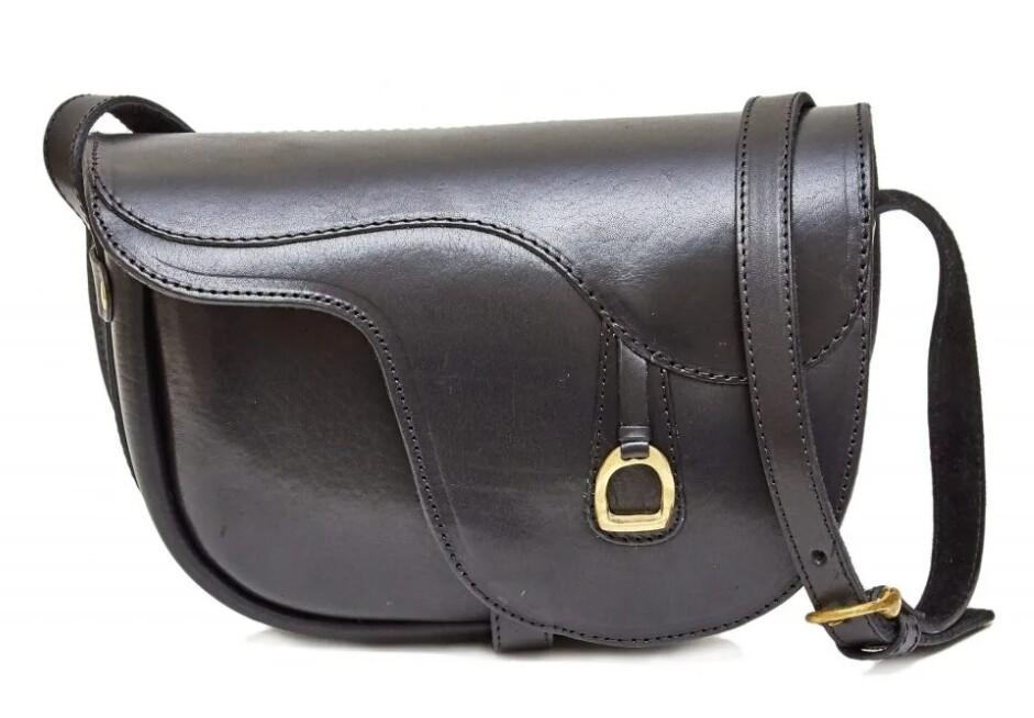 Ara Saddle alike purse black