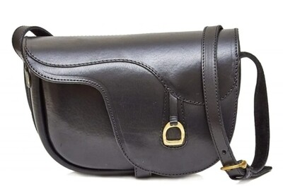 Ara Saddle alike purse black