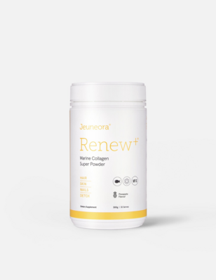 Renew+ Marine Collagen with Detox - Daily Drink Powder - PINEAPPLE FLAVOUR