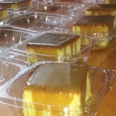 Wholesale Caramel Pound Cakes (15 Slices)