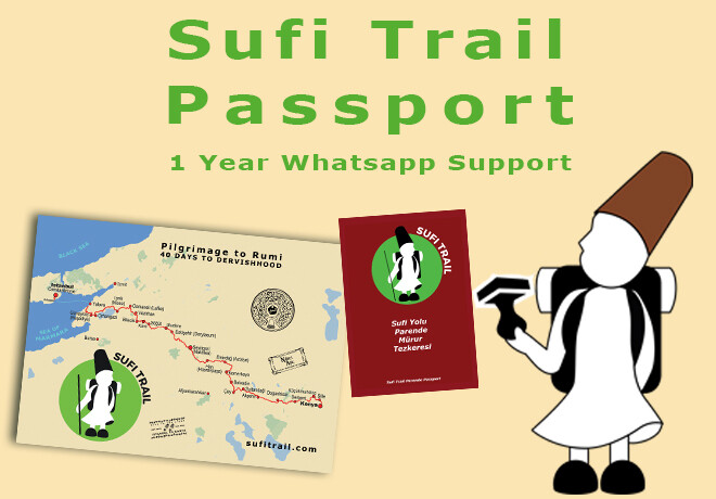 Sufi Trail passport