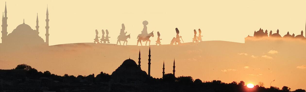 Sufi wandel- en markeerreis van Emirdag naar Rumi in Konya.