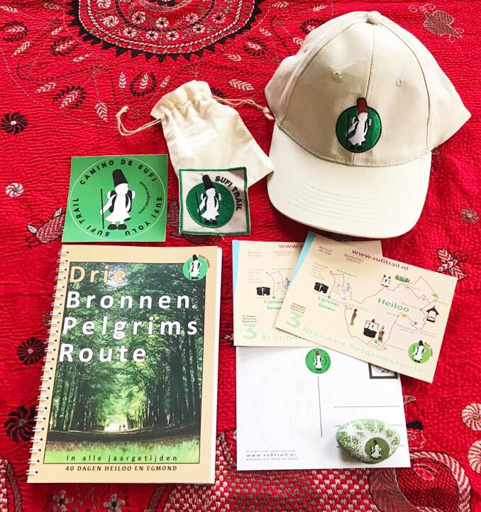 Cadeau startpakket - inschrijving als pelgrim