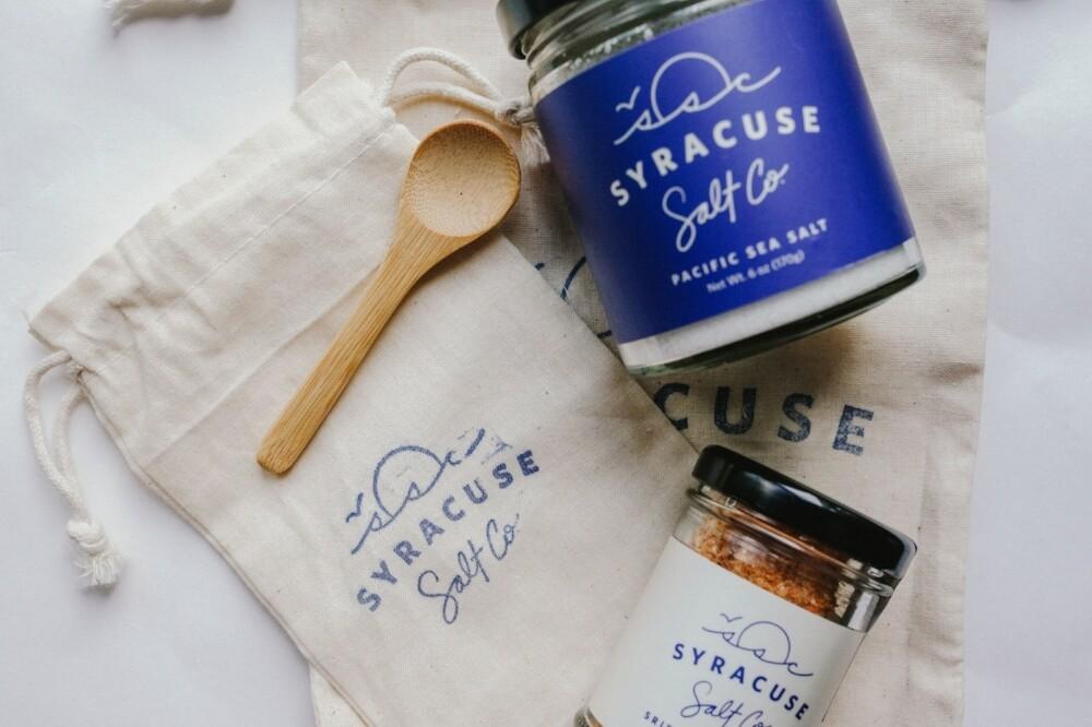 "3.5 oz. Salt ""Salt City Flake"" - Syracuse Salt Company - Syracuse, NY"