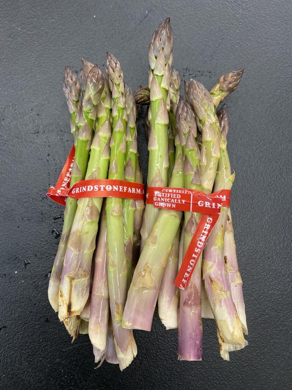 1 lb. Organic Asparagus - Grindstone Farm - Pulaski, NY