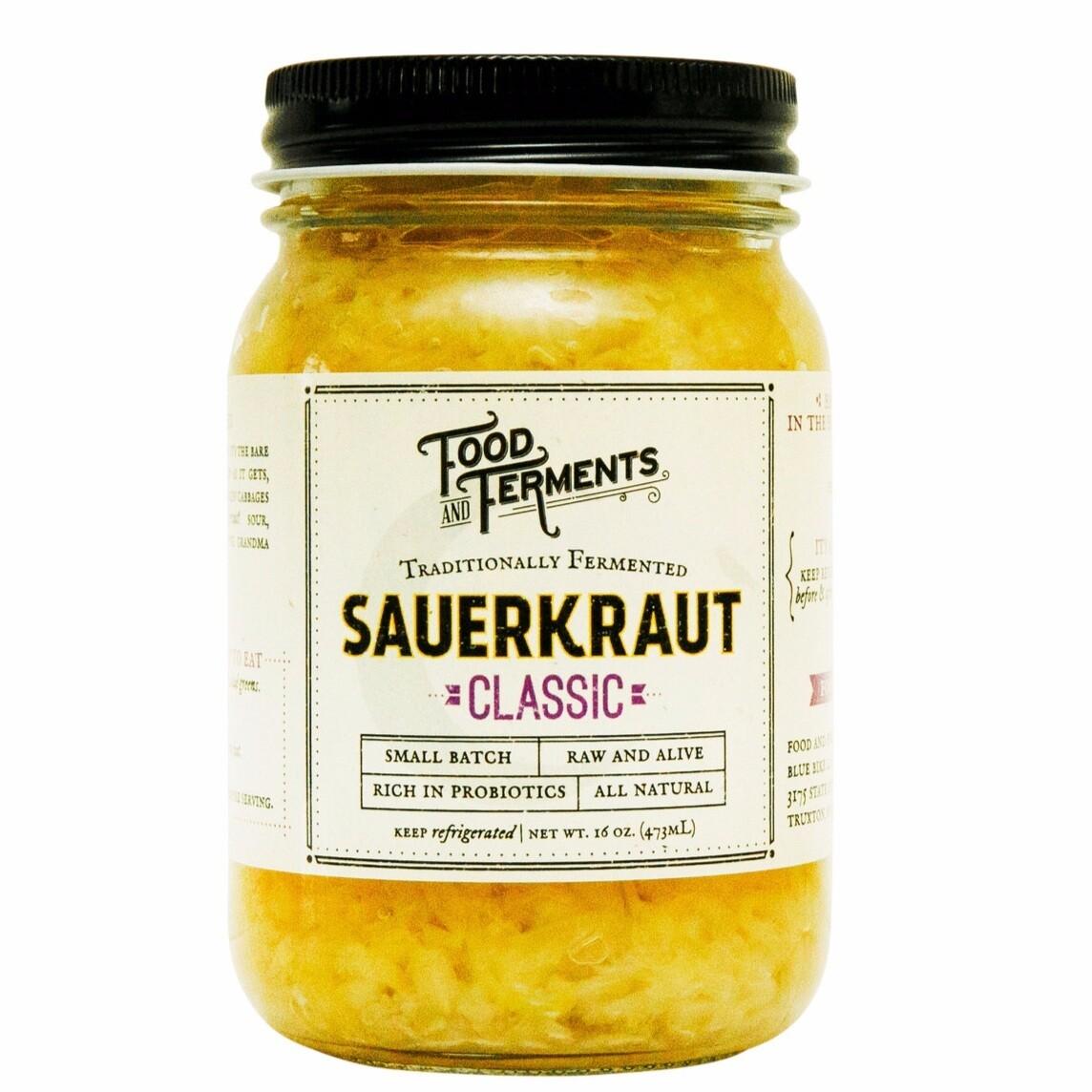 Sauerkraut - Food and Ferments - Truxton, NY